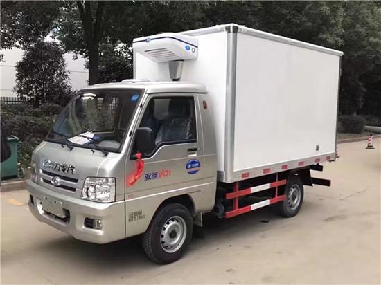 福田驭菱2.6米冷藏车