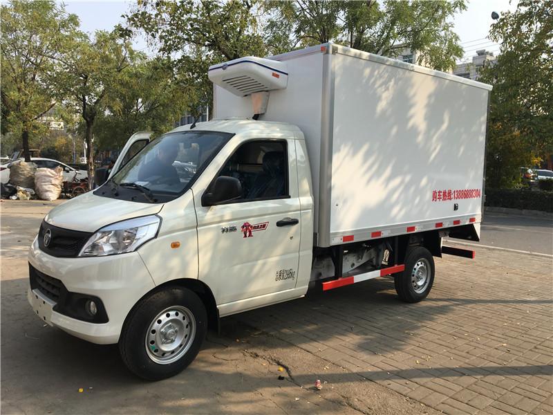 国六福田祥菱V冷藏车