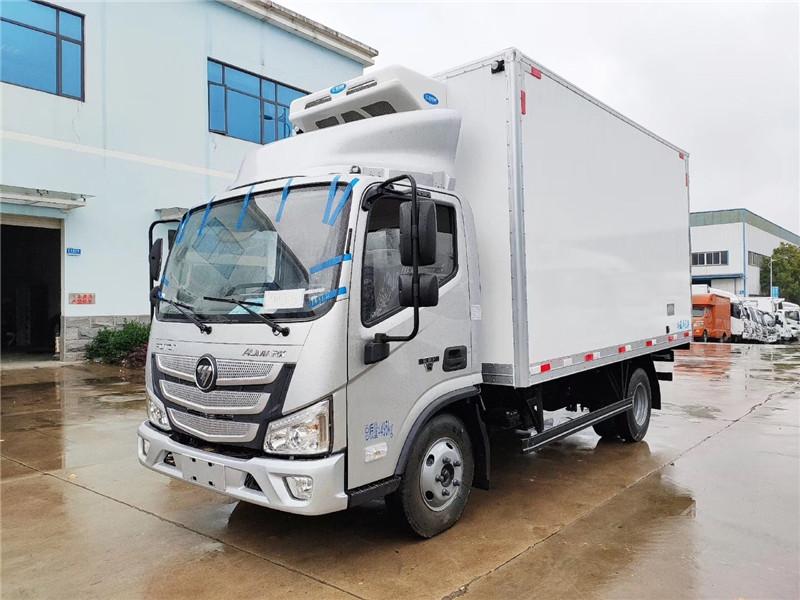 国六福田欧马可4米2冷藏车