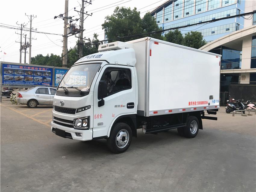 国六跃进小福星S80冷藏车(柴油版)